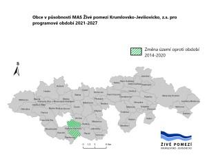mapa uzemni pusobnosti MAS 21+
