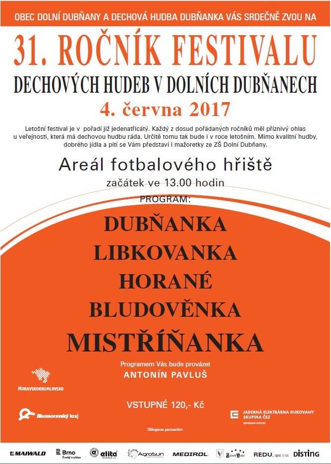 pozvánka Dubnany